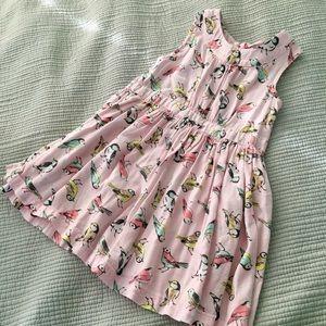 Sweet Birdie Pink Cotton Dress